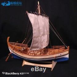 Greek Kyrenia 13.7'' 350 mm ancient trade boat wood model ship kit