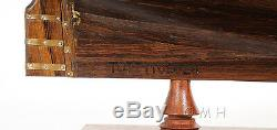 HMS Sovereign of the Seas 1637 Tall Ship 37 Built Wooden Model Boat Assembled