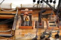 HMS Victory Tall Ship Wooden Scale Model Sailboat 30 Fully Assembled Boat New