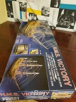 H. M. S. HMS Victory Panart 178 Scale Made in Italy Wooden Ship Model/Kit