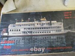 Halter Marine Creole Queen Dumas Boat Wooden Model Kit