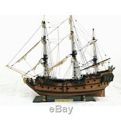 Handmade Ship 32 inch Wooden Sailing Boat Model Kit Ships Wood Models