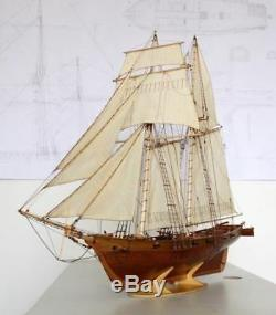 Harvey Sailboat Scale 1 50 921mm 36 2 Wood Model Ship Kit