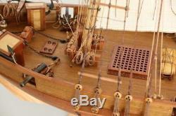Harvey Sailboat Scale 1/50 921mm 36.2 Wood Model Ship Kit Boat Kit