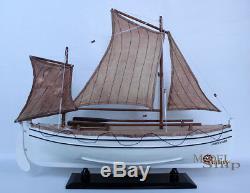 James Caird Handmade Wooden Model Boat