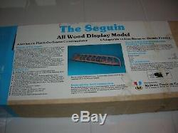 Kit No. 957 1884 The Seguin Pilot Wood Model Boat VINTAGE MIDWEST MODEL NEW