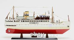 Korsholm III Ferry Boat Steamship Assembled 24 Built Wooden Model Boat New