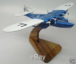 L-521 Latecoere Flying Boat Airplane Desktop Wood Model Big New