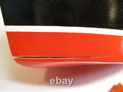 Lang Craft L-105 Powered Model Boat Painted Wood Japan OB Unused X6543