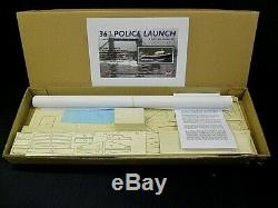 Large 36 inch Police Launch Model Boat Kit (A Phil Smith design)