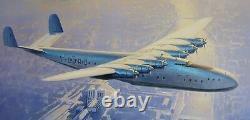 Latecoere 631 Flying Boat Civil L-631 Airplane Desktop Wood Model Big New
