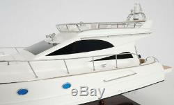 Luxurious Viking Sport Cruiser Yacht 36 Built Ship Wood Model Boat Assembled