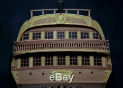 Luxury 1/48 USS Bonhomme Richard ship model ships wood kit wooden hanging boat
