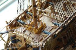 Luxury Classic Sail Spanish Galleon Boat San Felipe Warship Wooden Model Kits