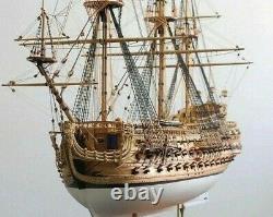 Luxury classic sailing boat Wood model kits San Felipe ship kit for pro adults