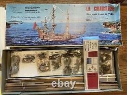 MANTUA LA COURONNE WOOD SHIP MODEL KIT 778 1100 Scale (equivalent of Corel kit)