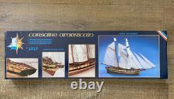 MODEL Maquettes Gerard Schmitt PRINCE DE NEUFCHATEL wood ship kit NewithOpen-box