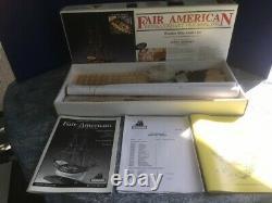 MODEL SHIPWAYS Fair American 14-Gun PRIVATEER wood kit + PLANKING BOOK