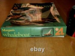 MORGAN'S WHALEBOAT- WOODEN MODEL BOAT KIT, MADE IN SPAIN #1984 yr. SCALE 125