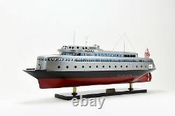MV Kalakala Ferry Hancrafted Wooden Passenger Ship Model 36