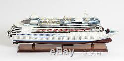 Majesty of the Seas Cruise Ship 32 Built Ocean Liner Wood Model Boat Assembled