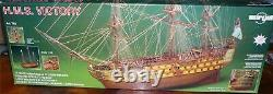 Mantua/Sergal782 HMS-Victory 178 Scale Plank-On-Frame Wood Ship Model Kit