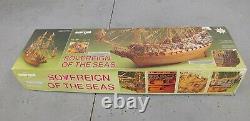 Mantua Sovereign of the Seas Wooden Ship 178 Scale Model Kit NIB RARE