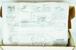 Marine Models Tug Boat Sea Going Type Wooden Ship Kit No 1081