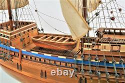 Mayflower 1620 Wooden Tall Ship Model 30 Plymouth Pilgrim's Historic Built Boat