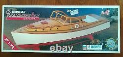 Midwest Cranberry Isle Lobsteryacht wood model kit lobster boat rc