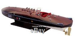 Miss Canada IV Replica 34 Wooden Race Boat CA-9 Built Wooden Model Ship