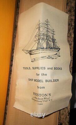 Model Shipways Rattlesnake 1781 Wood Ship Boat Privateer Vintage 1982