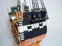 Model Shipways USS Constitution Cross-Section 1797 Wood Model 176 Scale