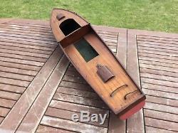 Model boat. Bassett lowke Aquila wooden hull