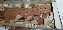 -NEW- Billing Boat Krabbenkutter #457 Wooden Model Kit Denmark COO RARE