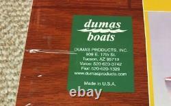 NEW Dumas 1249 1949 19' Chris Craft Racing Runabout 28 Model Boat Kit Wood