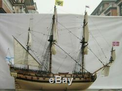 NEW luxury Model classic Russian wooden ship Kit ingermanland 1715 ships wood