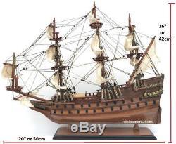 Nautical WASA Wood Wooden Nautical Model Ship Boat Vehicle Collection Display20