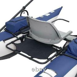 New Single Man Person Boat Fishing Adventure Outdoors Float Water River Raft