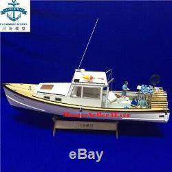New Zealand Shrimp Boat 1/18 650mm 25 RC Model Wood Model Kit Ship Gift