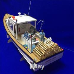 New Zealand shrimp boat 650mm RC Wood Model ship kit