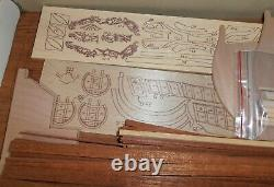 Norske Love 175 Billings Boats Wooden Hull Model Kit
