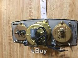 Nos 40s Scripps Old Wood Boat Gauge 32 Ford Scta Vintage Dash Instrument Panel