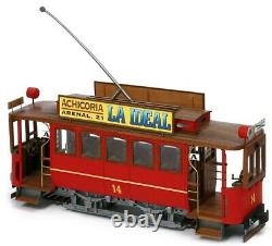 Occre Madrid (Cibeles) Tram 124 G- 45 Scale Model Kit 53002