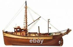 Occre Palamos Fishing Boat 145 Scale 12000 Ideal Beginners Model Boat Kit