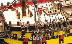Occre San Ildefonso 74 Gun 170 Scale Advanced Model Ship Kit 15004