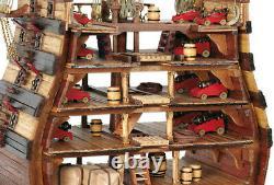 Occre Santisima Trinidad Cross Section 190 Scale 16800 Model Boat Kit