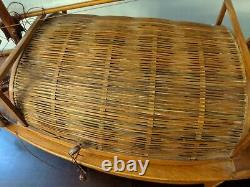 Older Chinese Junk Clipper Wood Model Boat Assembled Hand made 27 Large