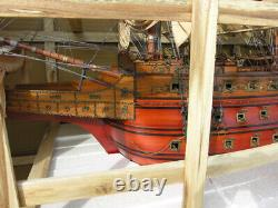 Oversize 90 Sovereign of the Seas SHIP MODEL Solid Wood Replica Nautical Decor