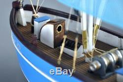 PELLWORM Modern Crab Fishing Boat Scale 1/48 Wood Model Ship Kit